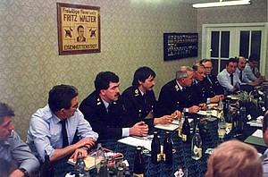 Arbeitssitzung der ersten Saarlouiser Delegation in Eisenhüttenstadt